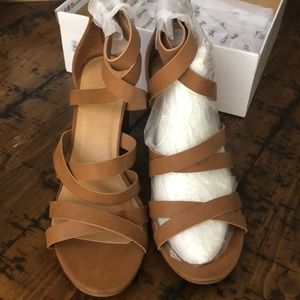 NWT Bamboo Taste Heeled Sandals size 11